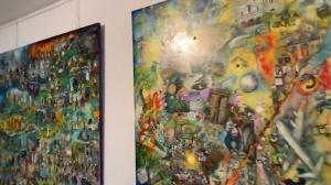 """Exposition """"Mon Hommage à Céline"""" , les œuvres complémentaires en référence à Guignol's Band de Céline (Vidéo)"""
