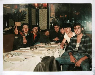 """La bande des Abbesses """"Les Loulous de Montmartre"""" vers la fin des années 70"""