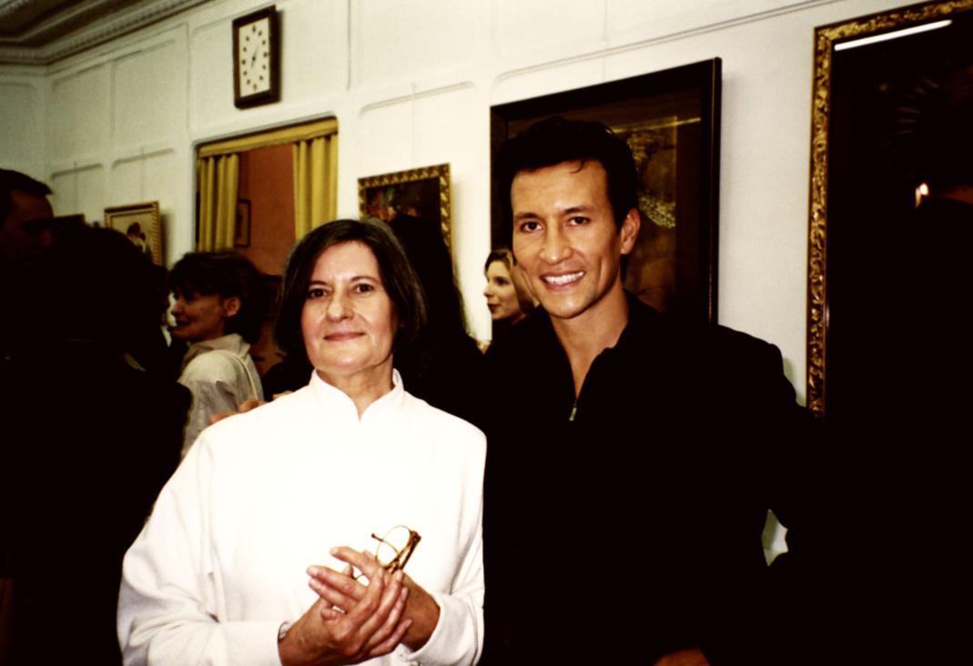 Mara Tranlong et son fils Minh