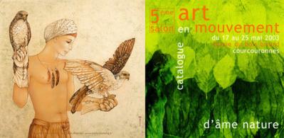 Mara Tranlong - Peinture acrylique sur bois - 85 x 85 cm - 2001