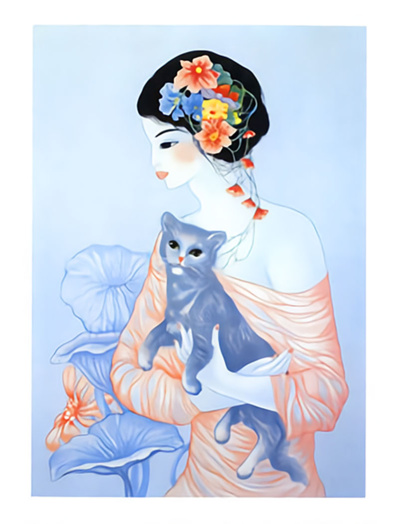 Mara Tranlong - Lithographie