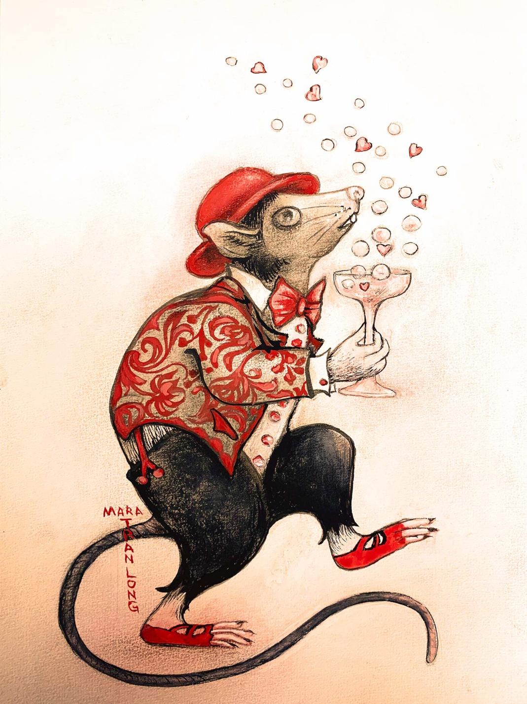 Bonne et heureuse ann�e du Rat