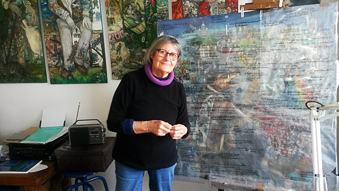 Une exposition de Mara Tran Long après 6 années de travail en hommage à Louis-Ferdinand Céline