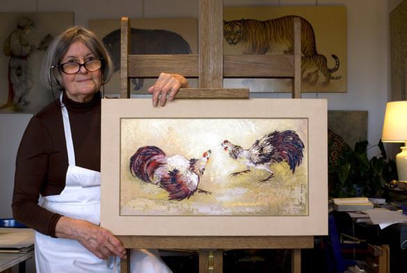 Biographie de Mara Tranlong, femme artiste peintre née en 1935 à Montauban