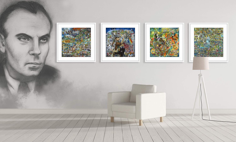"""2ème collection """"Mon Hommage à Céline"""" - Tirages argentiques numérotés et sécurisés en vente prochainement sur http://hommage-celine.com"""