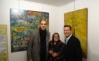 """Vernissage de l'exposition """"Mon Hommage à Céline"""" le 1 décembre 2017 à Montmartre"""