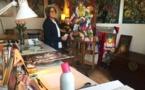 """Mara Tranlong présente en vidéo sa nouvelle exposition """"les Vendanges de Montmartre - Agapes"""""""