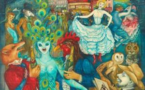 """""""Champagne"""", N°10 de la collection """"Les Loulous de Montmartre"""" par Mara Tranlong"""