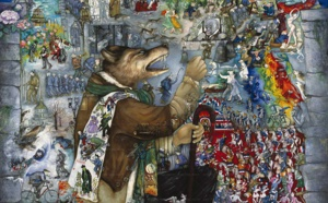 """La seconde collection """"Mon hommage à Céline"""" de Mara Tranlong est constituée de 4 œuvres réalisées de 2014 à 2017, à découvrir en haute résolution..."""
