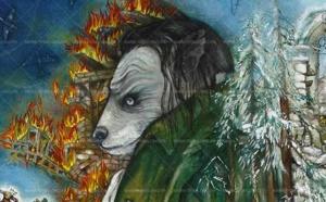 """La première collection """"Mon Hommage à Céline"""" de Mara Tranlong est constituée de 4 œuvres réalisées de 2010 à 2013, à découvrir en haute résolution..."""