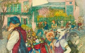 Exposition de Mara Tranlong à la Commanderie du Clos Montmartre
