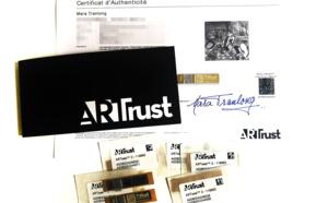 ARTTrust des certificats sécurisés utilisés pour identifier toutes les œuvres de Mara Tranlong